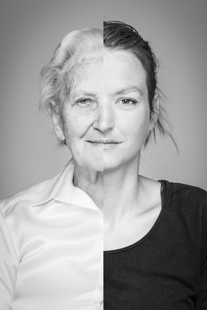 grandmother / granddaughter (54 years)